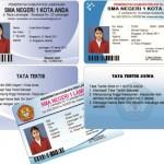 Cara membuat kartu pelajar seperti Kartu ATm