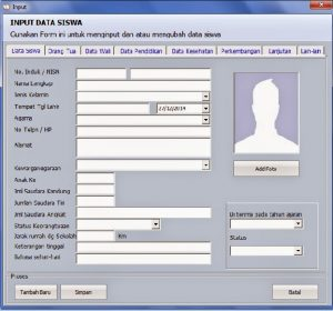 Download Software Aplikasi Database Siswa dan guru Terbaru