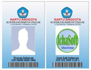 Download Aplikasi untuk membuat Kartu Pegawai