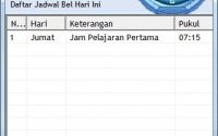 Download Bel Sekolah Otomatis 3 bahasa Gratis