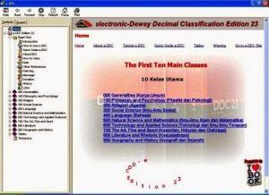 Download Software untuk Menentukan Klasifikasi buku Perpustakaan