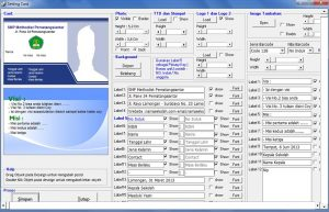 Download Software Cetak Kartu Siswa Simple Student Card Pro 1.9.7 Full Versi