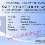 Software Pembuat Kartu Anggota